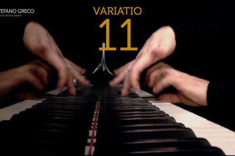 Bach. Goldberg Variations. Variatio 11