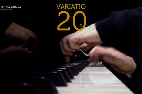 Bach. Goldberg Variations. Variatio 20
