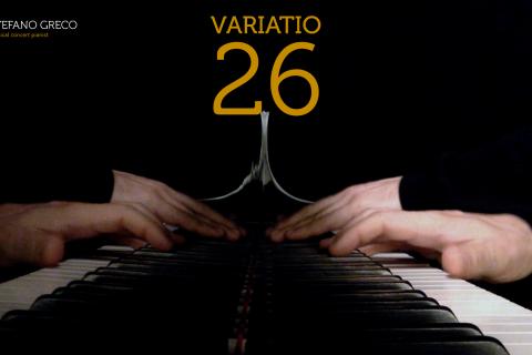 Bach. Goldberg Variations. Variatio 26