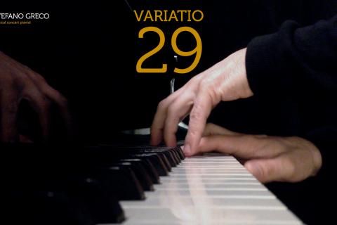 Bach. Goldberg Variations. Variatio 29