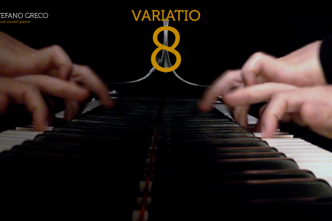 Bach. Goldberg Variations. Variatio  8