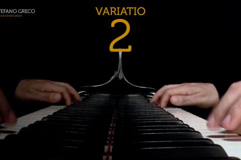 Bach. Goldberg Variations. Variatio  2