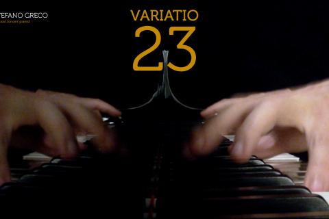Bach. Goldberg Variations. Variatio 23