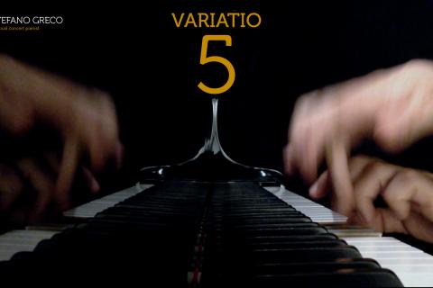 Bach. Goldberg Variations. Variatio  5