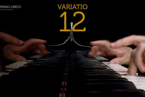 Bach. Goldberg Variations. Variatio 12