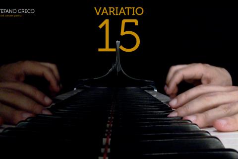 Bach. Goldberg Variations. Variatio 15