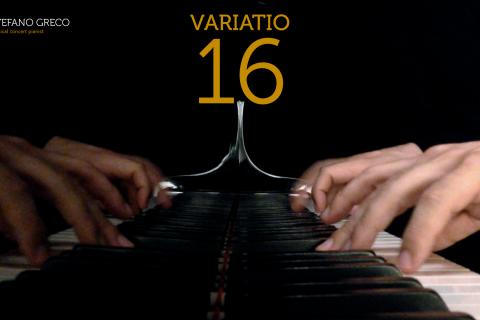 Bach. Goldberg Variations. Variatio 16