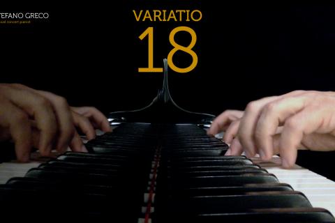 Bach. Goldberg Variations. Variatio 18