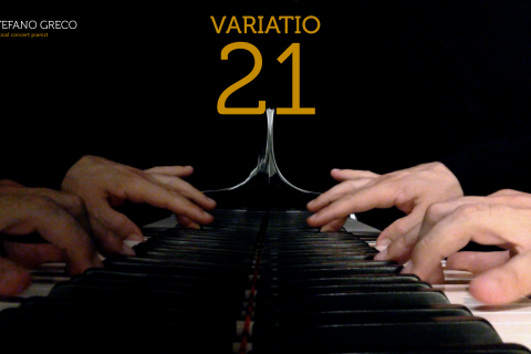 Bach. Goldberg Variations. Variatio 21