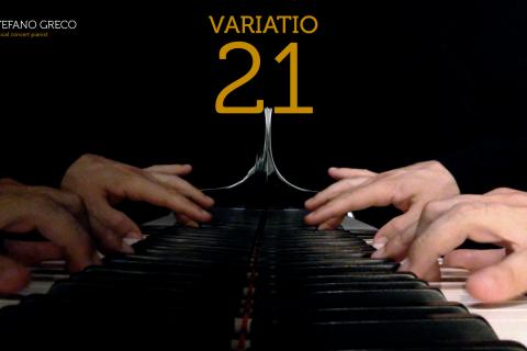 Bach. Goldberg Variations. Variatio 21