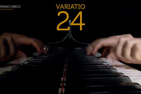 Bach. Goldberg Variations. Variatio 24