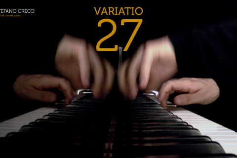 Bach. Goldberg Variations. Variatio 27