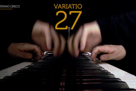 Bach. Goldberg Variations. Variatio 27