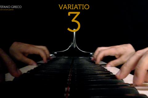 Bach. Goldberg Variations. Variatio  3