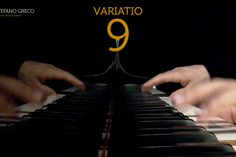 Bach. Goldberg Variations. Variatio  9