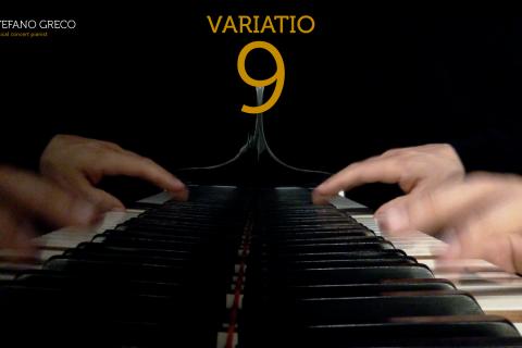 Bach. Goldberg Variations. Variatio  9