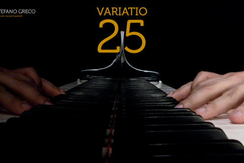 Bach. Goldberg Variations. Variatio 25