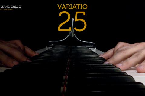 Bach. Goldberg Variations. Variatio 25