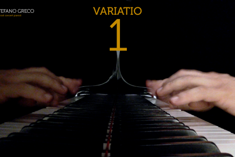 Bach. Goldberg Variations. Variatio  1