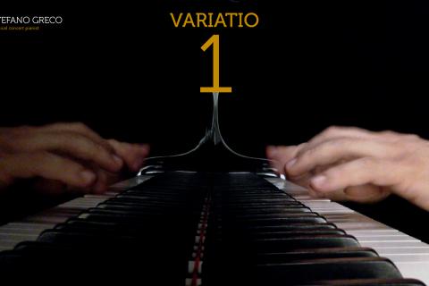 Bach. Goldberg Variations. Variatio  1