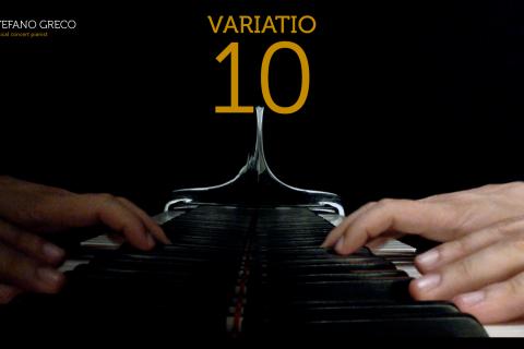 Bach. Goldberg Variations. Variatio 10
