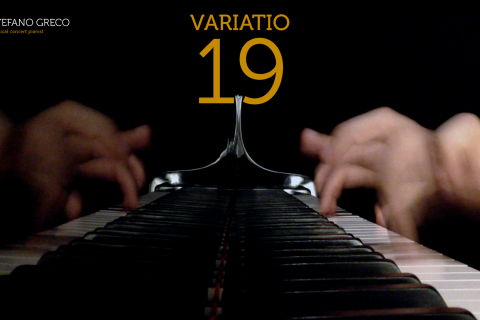 Bach. Goldberg Variations. Variatio 19