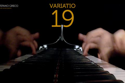 Bach. Goldberg Variations. Variatio 19