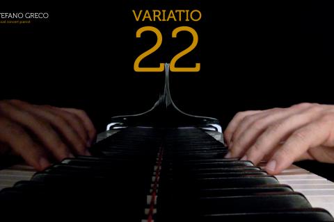Bach. Goldberg Variations. Variatio 22
