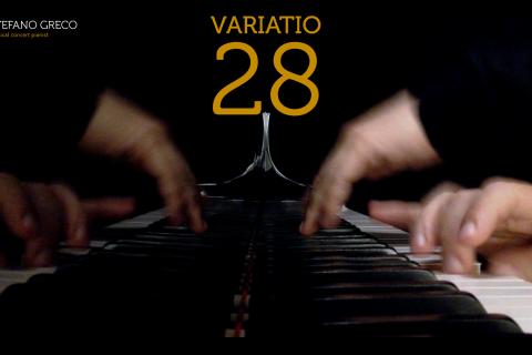 Bach. Goldberg Variations. Variatio 28
